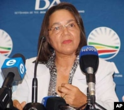 The DA's choice for mayor of Cape Town is Member of Parliament Patricia de Lille