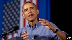 美国总统奥巴马8月22日在纽约