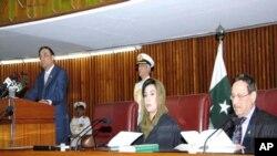 صدر زرداری کا پارلیمان سے خطاب، اپوزیشن کا بائیکاٹ