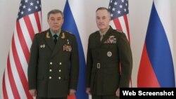 Cozef Danfordun və Valeri Gerasimov