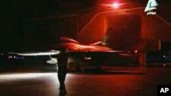 Egipatski borbeni mlaznjak kreće na misiju u Libiji