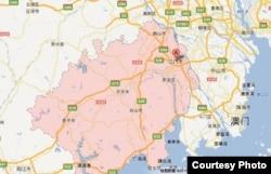 广东省江门市地图