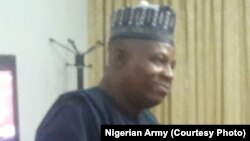 Gwamnan jihar Borno Ibrahim Kashim Shettima