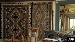 纳瓦霍羊毛毯