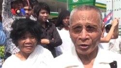 King Body Arrives in Phnom Penh