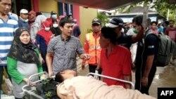Tsunami Strikes Indonesia's Sunda Strait