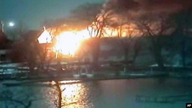 Požar u Vebsteru, saveznoj državi Njujork
