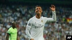 Cristiano Ronaldo, Madrid, 4 mai 2016