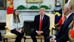 VOA: Trump recibe a esposa de Juan Guaidó en la Casa Blanca
