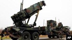 네덜란드군이 미국에서 도입해 운용중인 패트리엇 미사일 발사 장비. (자료사진)