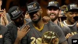 LeBron James, triple champion NBA, Oakland, Californie, le 19 juin 2016.