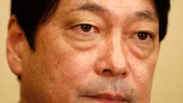 Japan's Defense Minister Itsunori Onodera during an interview with Reuters in Tokyo February 14, 2013.