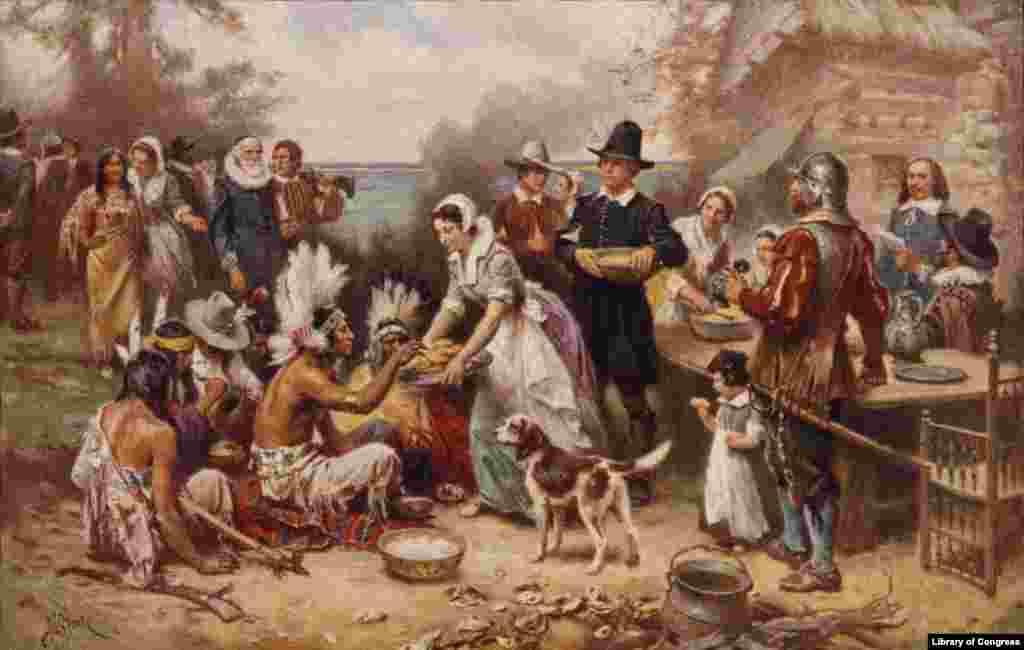 امریکہ میں ہر سال نومبر کی چوتھی جمعرات کو تھینکس گوونگ ڈے یعنی یوم تشکرکا تہوار منایا جاتا ہے۔