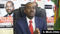 Nelson Chamisa of the Movement for Democratic Change