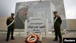 Мавзолей Ясира Арафата.