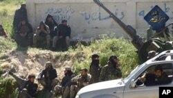 ຮູບພາບດັ່ງກ່າວນີ້ ແມ່ນສົ່ງຜ່ານທາງ Twitter ໂດຍກຸ່ມກະບົດ al-Nusra ທີ່ເປັນເຄືອຂ່າຍ ຂອງ al-AQaida.