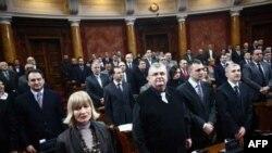 Početak zasedanja Skupštine Srbije