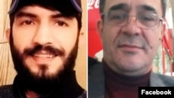 AXCP fəalları Tural Atakişiyev (Pünhan) və Əlisəfa İsayev