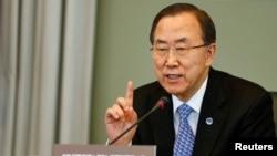 Tổng thư ký Liên hiệp quốc Ban Ki-moon nói đây là diễn biến đáng khích lệ, giúp giảm căng thẳng để thăng tiến hòa bình và ổn định trong khu vực