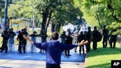 ARCHIVO. Foto de jornada de protestas en Venezuela.