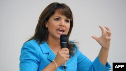 Bà Christine O'Donnell đã giành chiến thắng ngoạn mục trước dân biểu quốc hội lâu đời Michael Castle tại bang Delaware
