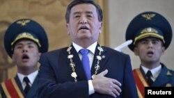 Qirg'iziston Prezidenti Sooronboy Jeenbekovning inauguratsiya marosimi, Bishkek, Qirg'iziston, 24-noyabr, 2017-yil