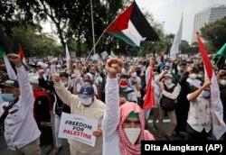 Indonesia Israel Protest