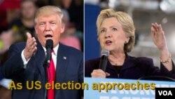 Trump-Clinton -- 14 oktòb 2016.