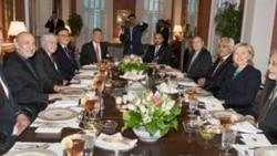 هيلاری کلينتون و حامد کرزی در واشنگتن ديدار و مذاکره می کنند