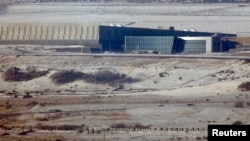 FILE - A National Security Agency (NSA) data gathering facility is seen in Bluffdale, about 25 miles (40 kms) south of Salt Lake City, Utah.