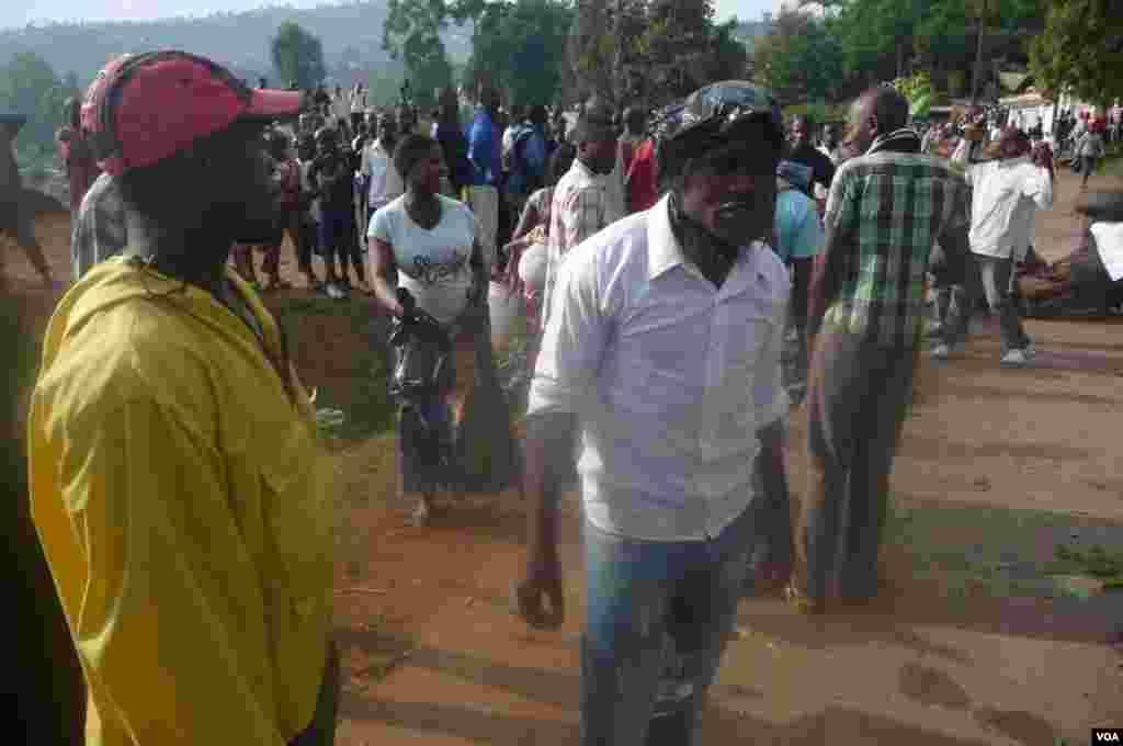 Manifestation du 21 nov. a la prise de Goma par le M23 (Jkam, Goma, RDC)