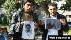Tbilisidə siyasi məhbuslara dəstək aksiyası