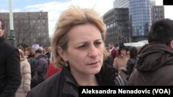 Jasmina Stojanović, majka koja je 1993. godine rodila devojčicu, Foto: VOA