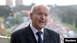 Issad Rebrab, président et propriétaire de Cevital à Abidjan le 8 juin 2012.