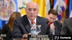 El Ministro de Relaciones Exteriores de Paraguay, Eladio Loizaga, fue elegido presidente de la XLIV Asamblea General de la Organización de los Estados Americanos (OEA). [Foto: Juan Manuel Herrera, OEA].