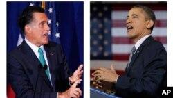 Ứng cử viên đảng Cộng hòa Mitt Romney và Tổng thống Barack Obama