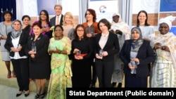 2016 Secretary of State's International Women of Courage Award winners.