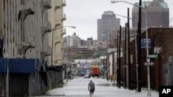 Ο Κυκλώνας Αϊρήν στην Νέα Υόρκη
