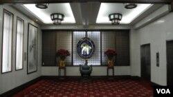 台灣外交部內景(美國之音申華拍攝)