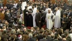 Related video of funeral for Egypt's Coptic Pope