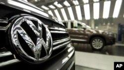 Logo của hãng Volkswagen.