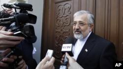 Embajador iraní ante la OIEA, Ali Asghar Soltanieh.