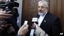 """El embajador iraní ante la OIEA, Ali Asghar Soltanieh, calificó las conversaciones de Viena de """"fructíferas""""."""