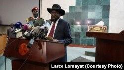 Janubiy Sudan Prezidenti Salva Kiir