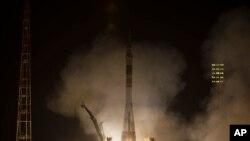 Poletanje Sojuza koji je odneo novu posadu na Svemirsku stanicu, 29. maj, 2013.