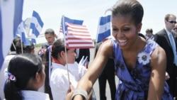 La esposa del presidente estadounidense recorrerá Pensilvania, Nueva York, Luisiana y Florida entre el jueves y el viernes.