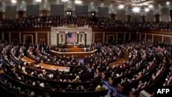 Prezident Barak Obama Kongress huzurida, Vashington, 24-yanvar, 2012