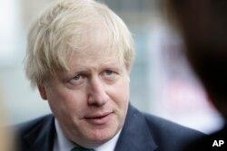 英国外交大臣鲍里斯·约翰逊