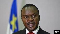 Lãnh đạo lâm thời của Cộng hòa Trung Phi Alexandre Ferdinand Nguendet.