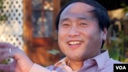 中國民主黨全國委員會主席王軍濤(資料照)。